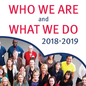 Who We Are and What We Do: 2018-2019