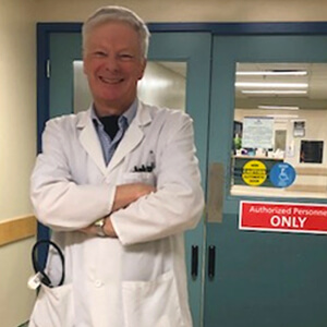 Dr. John Reda remains smiling after 30 years at Misericordia Health Centre