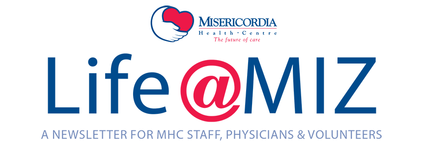Life At Miz - newsletter for staff, physicians and volunteers